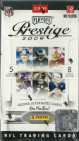 2009 Playoff Prestige Football Blaster Box of (40) Cards at PristineAuction.com
