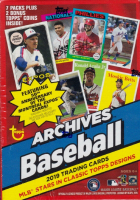 2019 Topps Archives Baseball Blaster Box with (7) Packs at PristineAuction.com