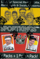 2018 Sport Kings Volume 1 Blaster Box with (8) Packs at PristineAuction.com
