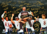 """Bears """"SB XX"""" LE 16x20 Photo Team-Signed by (31) with Mike Ditka, Willie Gault, William Perry, Steve McMichael, Maury Buford (Schwartz Sports COA) at PristineAuction.com"""