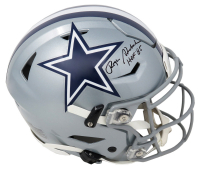 """Roger Staubach Signed Cowboys Full-Size Authentic On-Field SpeedFlex Helmet Inscribed """"HOF '85"""" (Schwartz COA) at PristineAuction.com"""