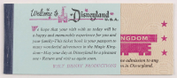 Vintage Disney Magic Kingdom Ticket Coupon Booklet with (5) Tickets at PristineAuction.com