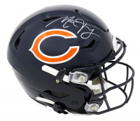 Mitchell Trubisky Signed Bears Full-Size Authentic On-Field SpeedFlex Helmet (Fanatics Hologram) at PristineAuction.com