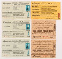 Lot of (6) Vintage Disneyland Tickets at PristineAuction.com