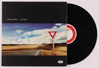 "Eddie Vedder Signed ""Yield"" Vinyl Record Album (PSA Hologram) at PristineAuction.com"