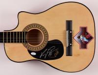 "Kenny Loggins & Kevin Bacon Signed ""Footloose"" 38"" Acoustic Guitar (JSA COA) at PristineAuction.com"