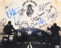 """""""Sons of Anarchy"""" 11x14 Photo Signed by (16) with William Lucking, Theo Rossi, Ryan Hurst, David Labrava, Dayton Callie (Beckett LOA) at PristineAuction.com"""
