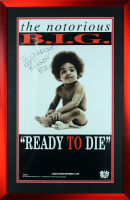 "The Notorious B.I.G. Signed ""Ready to Die"" 18x32 Poster Inscribed ""Keep Bangin'"" (Beckett LOA) at PristineAuction.com"