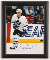 Tomas Kaberle Signed Maple Leafs 9.5x11.5 Custom Framed Photo Display (JSA COA) at PristineAuction.com