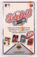 1991 Upper Deck High Number Series Baseball Wax Box of (540) Cards at PristineAuction.com