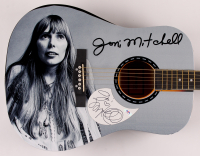 "Joni Mitchell Signed 40.5"" Acoustic Guitar (PSA Hologram) at PristineAuction.com"