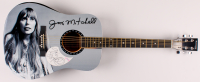 """Joni Mitchell Signed 40.5"""" Acoustic Guitar (PSA Hologram) at PristineAuction.com"""