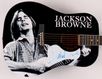 "Jackson Browne Signed 40.5"" Acoustic Guitar (JSA COA) at PristineAuction.com"