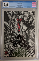 "2018 ""Venom"" Issue #150 Mike Perkins B&W Limited Variant Marvel Comic Book (CGC 9.6) at PristineAuction.com"