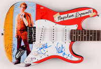 "Jon Heder & Efren Ramirez Signed ""Napoleon Dynamite"" 39.5"" Electric Guitar Inscribed ""Vote For Pedro"" (PSA Hologram) at PristineAuction.com"
