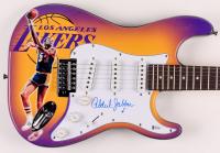 "Kareem Abdul-Jabbar Signed Lakers 39"" Electric Guitar (Beckett COA) at PristineAuction.com"