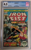 "1975 ""Iron Fist"" Issue #1 Marvel Comic Book (CGC 4.5) at PristineAuction.com"