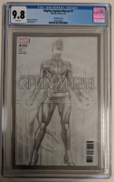 "2017 ""Mighty Captain Marvel"" Issue #1 Alex Ross Sketch Variant Marvel Comic Book (CGC 9.8) at PristineAuction.com"