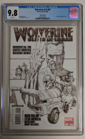 "2008 ""Wolverine"" Issue #66 3rd Printing Steve McNiven Sketch Variant Marvel Comic Book (CGC 9.8) at PristineAuction.com"