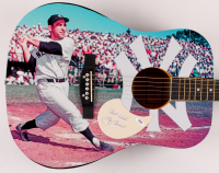 "Yogi Berra Signed Yankees 40.5"" Acoustic Guitar Inscribed ""Best Wishes"" (PSA Hologram) at PristineAuction.com"
