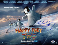 """Robin Williams & George Miller Signed """"Happy Feet Two"""" 11x14 Photo (PSA COA) at PristineAuction.com"""