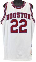 """Clyde Drexler Signed Rockets Jersey Inscribed """"HOF - 04'"""" (PSA COA & JSA Hologram) at PristineAuction.com"""