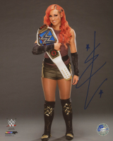 Becky Lynch Signed WWE 8x10 Photo (Pro Player Hologram) at PristineAuction.com
