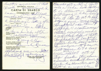 Rocky Marciano Personal Hand-Written 4.5x6.5 Letter (PSA LOA) at PristineAuction.com