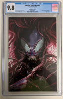 "Lot of (4) 2017 ""The Amazing Spider-Man"" Issue #29 Marvel Comic Books with Francesco Mattina Venomized Mary Jane Variants A, B, C & D (CGC 9.8) at PristineAuction.com"