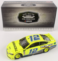 Ryan Blaney Signed #12 Menards Darlington Autographed 2018 Fusion 1:24 Scale Die Cast Car (RCCA COA) at PristineAuction.com