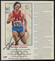 Bruce Jenner Signed 8x9 Magazine Page (PSA COA) at PristineAuction.com