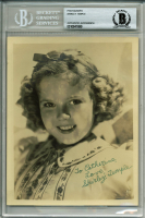 "Shirley Temple Signed 5.5x7 Photo Inscribed ""Love"" (BAS Encapsulated) at PristineAuction.com"