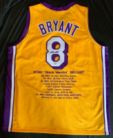 Kobe Bryant Signed Career Highlight Stat Jersey (PSA Hologram) at PristineAuction.com
