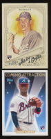 Lot of (2) Topps Baseball Cards with 2018 Topps Allen and Ginter #147 Walker Buehler RC & 2018 Topps Archives Coming Attraction #CA4 Ozzie Albies RC at PristineAuction.com