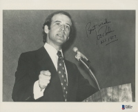 "Joe Biden Signed 8x10 Photo Inscribed ""Best Wishes"" & ""USS 1977"" (Beckett COA) at PristineAuction.com"