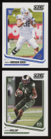 Lot of (2) 2018 Score Football Cards with #388 Michael Gallup RC & #429 Leighton Vander Esch RC at PristineAuction.com