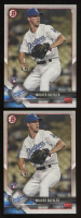 Lot of (2) Walker Buehler 2018 Bowman #59 RC at PristineAuction.com