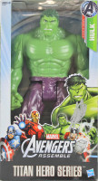 Stan Lee Signed The Hulk Titan Heroes Series Avengers Assemble Marvel Action Figure (PSA COA) at PristineAuction.com