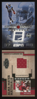 Lot of (2) Shaun Alexander Football Cards with 2005 Upper Deck ESPN Sports Center Swatches #SA & 2004 Playoff Honors Alma Mater Materials #AM23 at PristineAuction.com