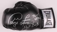 "George Foreman Signed Everlast Boxing Glove Inscribed ""H.O.F 2003"", ""76-5"" & ""68 KO's"" (JSA COA) at PristineAuction.com"