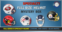 Schwartz Sports Football Superstar Signed Full Size SPECIALTY Helmet Mystery Box - Series 1 (Limited to 112) (ALL HELMETS ARE SPECIALTY HELMETS!!) at PristineAuction.com