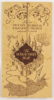 "Daniel Radcliffe Signed ""Harry Potter"" Marauder's Map (Beckett COA) at PristineAuction.com"