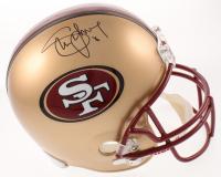 Steve Young Signed 49ers Full-Size Helmet (JSA COA) at PristineAuction.com