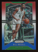 Bill Russell 2019-20 Panini Prizm Prizms Red White and Blue #21 at PristineAuction.com