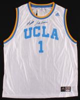 "John Wooden Signed UCLA Bruins Jersey Inscribed ""Best Wishes"" (PSA Hologram) at PristineAuction.com"
