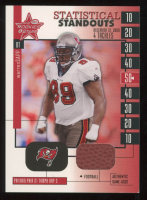 Warren Sapp 2001 Leaf Rookies and Stars Statistical Standouts #SS23 at PristineAuction.com