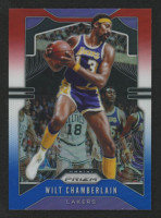 Wilt Chamberlain 2019-20 Panini Prizm Prizms Red White and Blue #18 at PristineAuction.com