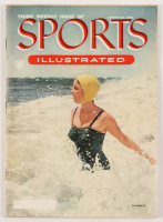 "Original ""First Swimsuit Cover"" Third Issue Sports Illustrated Magazine from August 30, 1954 at PristineAuction.com"