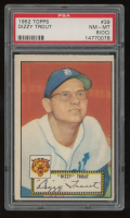 Dizzy Trout 1952 Topps #39 (PSA 8) at PristineAuction.com