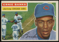 Ernie Banks 1956 Topps #15 at PristineAuction.com